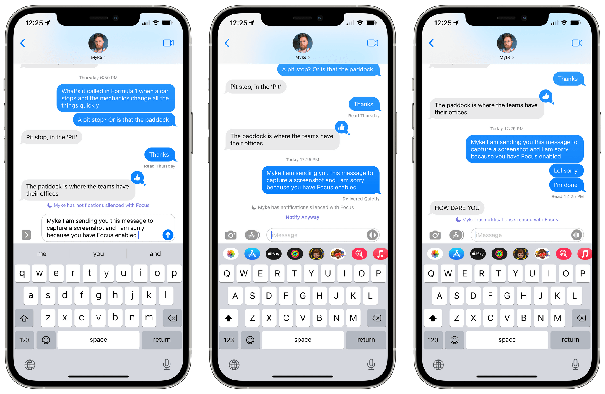How to anger your friends with iOS 15, step 1: Notify Anyway.
