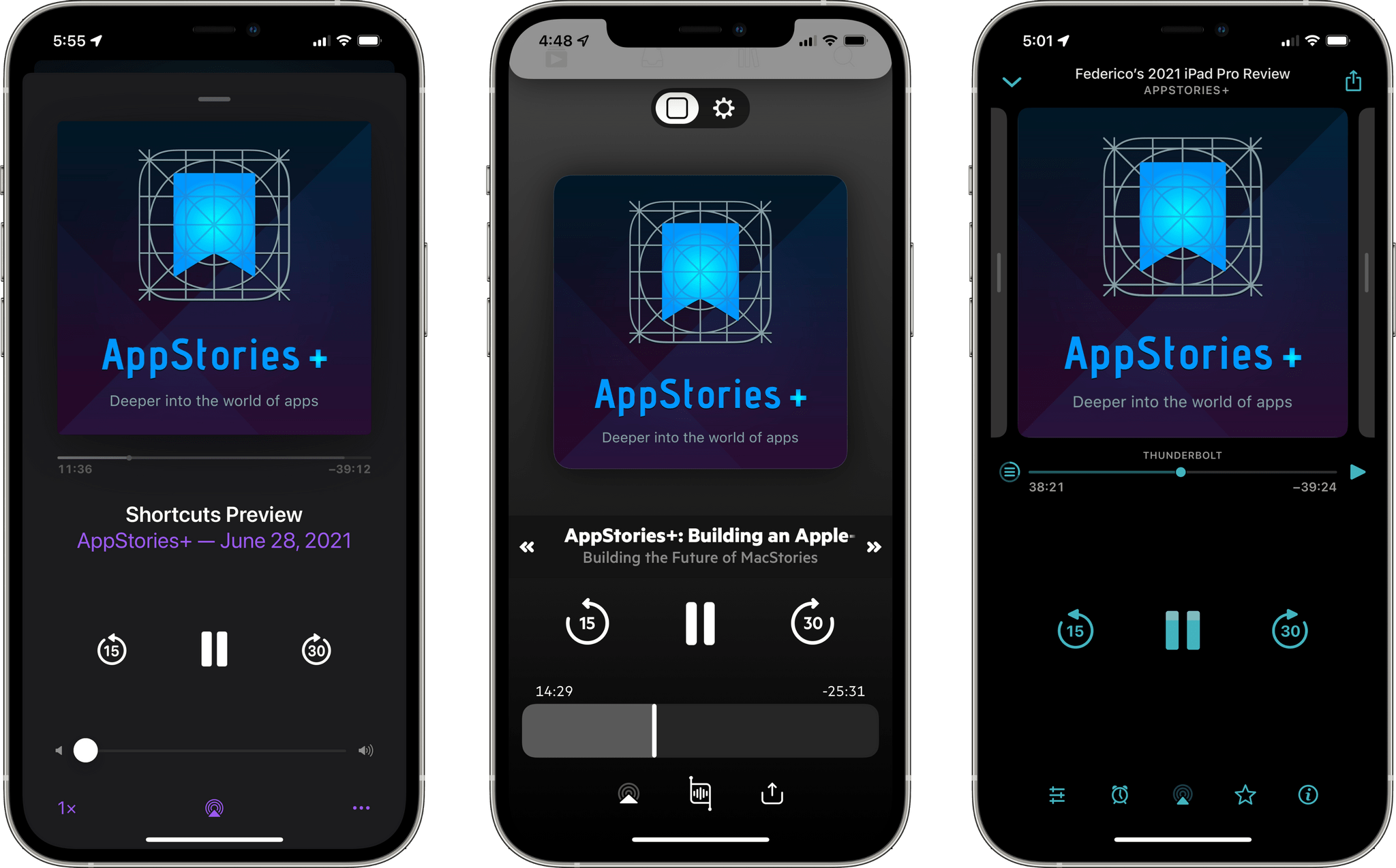 You can listen to AppStories+ in any podcast client.