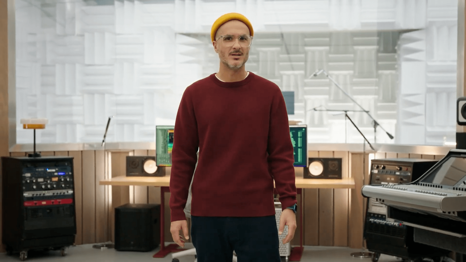 Apple's Zane Lowe introduced the company's new mood and activity playlists and Apple Music Voice Plan.