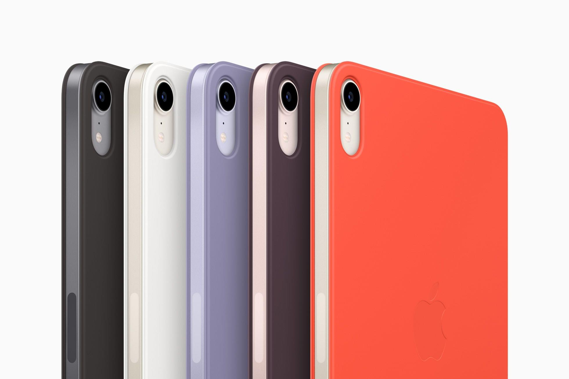 There are new Smart Folio cases for the iPad mini too.