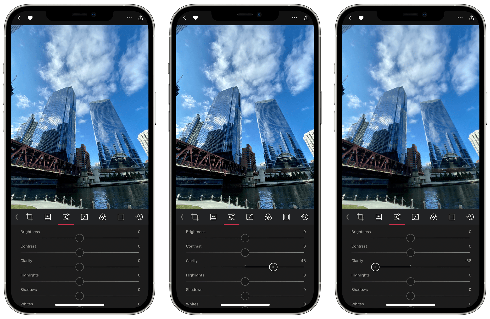 photo of Photo Editor and Organizer Darkroom Adds New Clarity Tool image