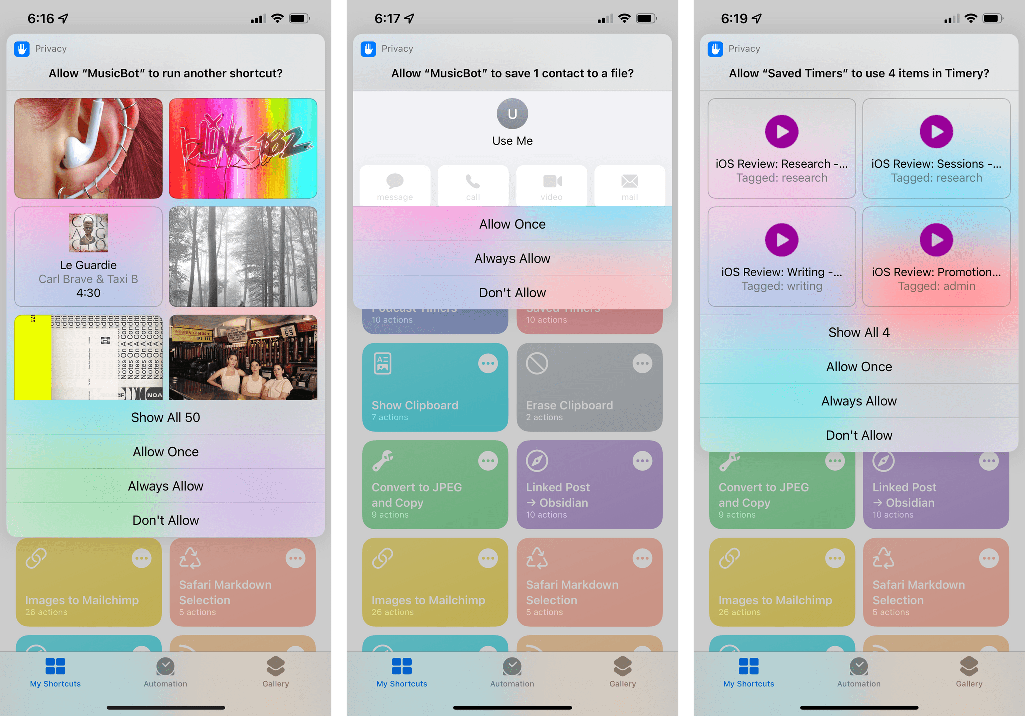 New permission requests in iOS 15.