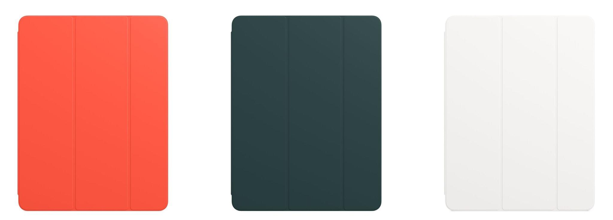 The updated Smart Folio colors.