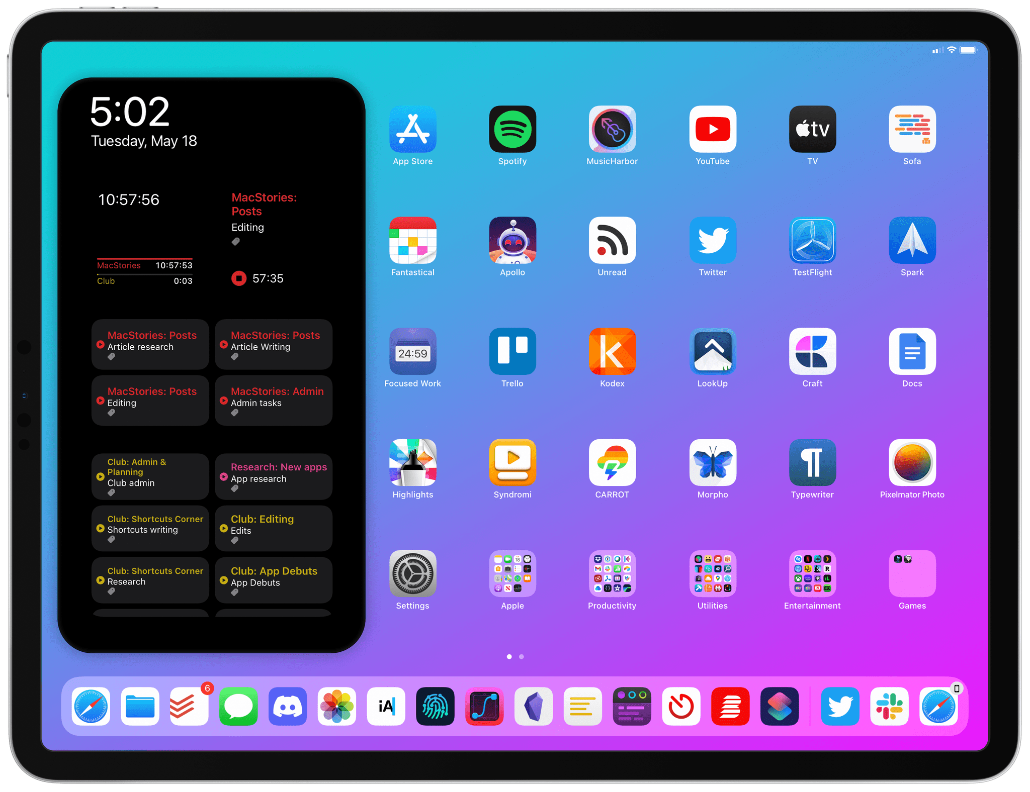 One of our new iPad Pro wallpapers.