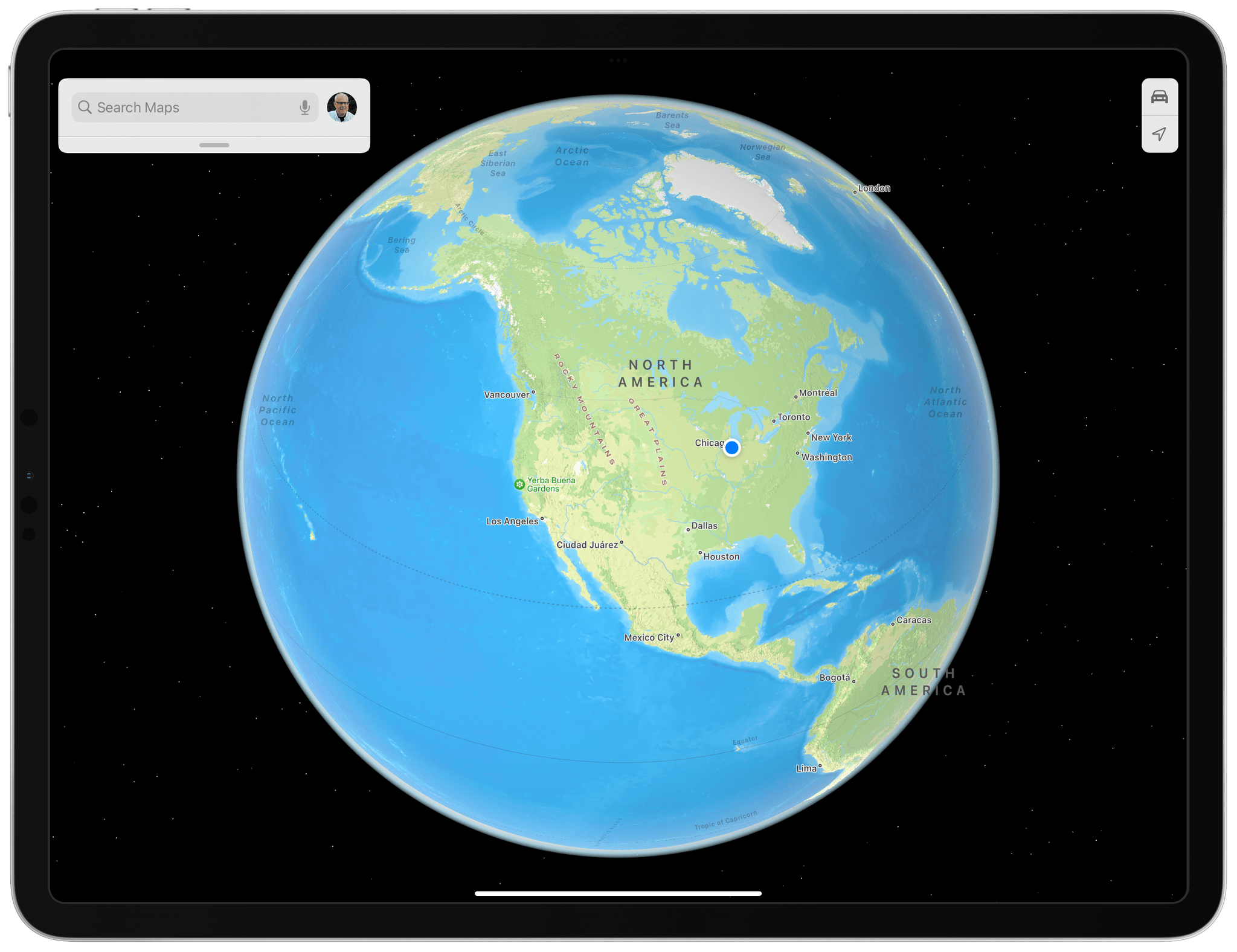 In contrast, Maps now offers a zoomed out globe view on all platforms with the exception of Intel Macs that are otherwise compatible with Monterey.