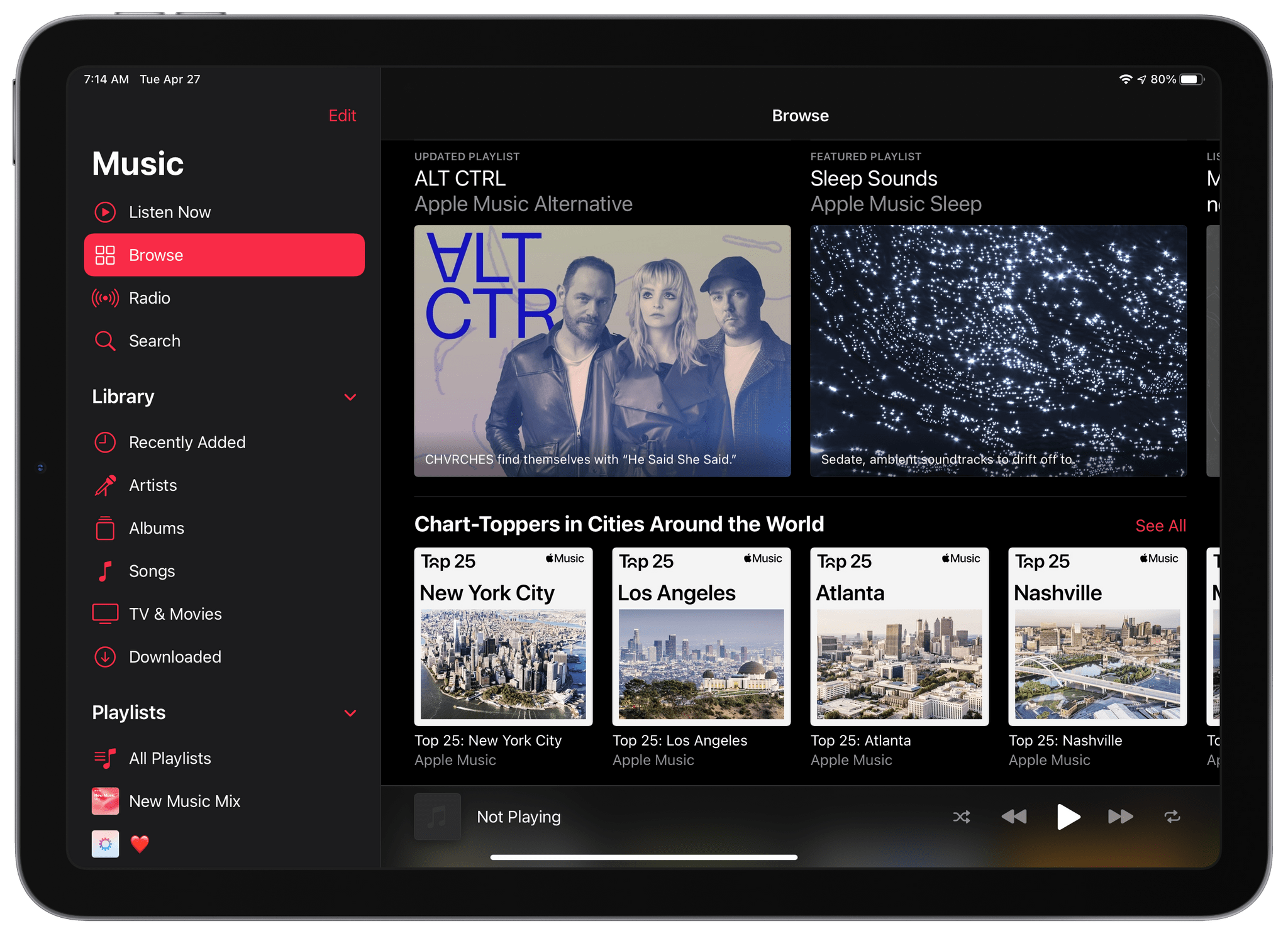 Hands-On With Apple Music's New Collections of Chart-Toppers in Cities Around the World
