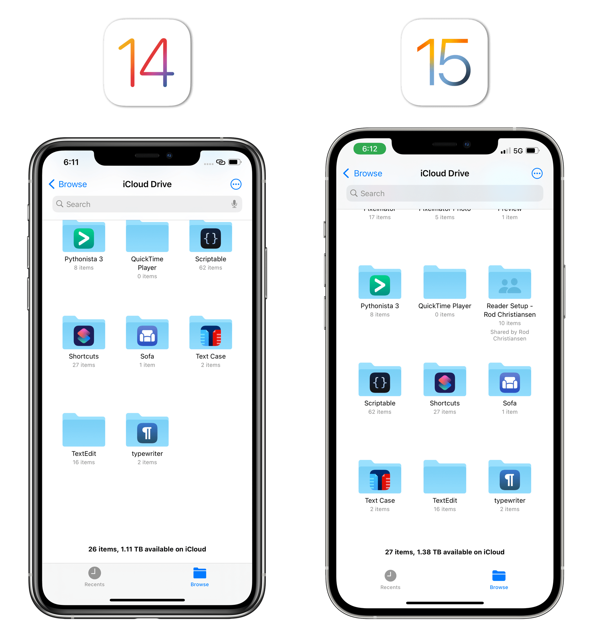 Toolbars are transparent in iOS 15 when content is scrolled all the way to the bottom.