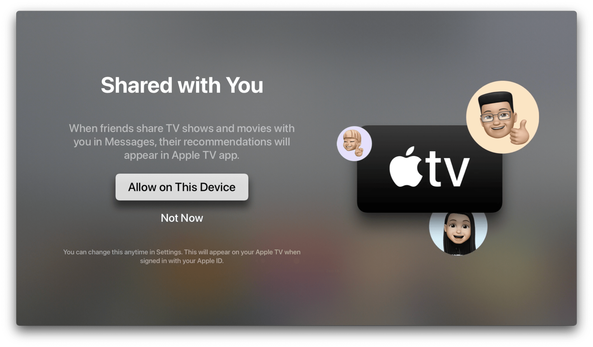 'Shared With You' is coming to the Apple TV too.